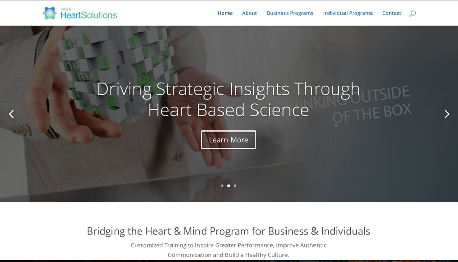 Inner Heart Solutions Project done by Ocean Digital Media