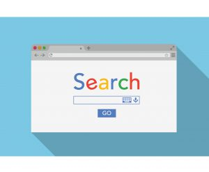 search engine optimisation browser window